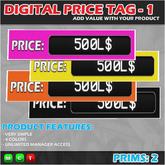 DIGITAL PRICE TAG 1