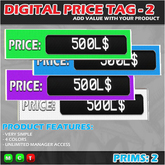 DIGITAL PRICE TAG 2