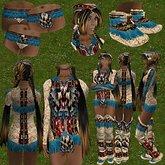 While Dreams - OUTFIT/ENSEMBLE KINOA - Indian Native amerindian - While Swot