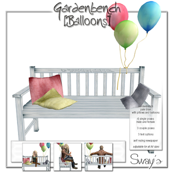 Sway's Gardenbench [Balloons]