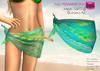 FULL PERM CLASSIC MESH Ladies Sarong Beach Wear Mini Wrapped Skirt Bikini Bottom