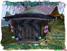 Dragon Magick Wares Petite Magic Shroom Cottage