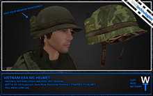 [WT] Vietnam M1 Helmet