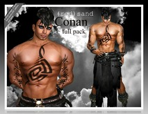 ::PROMO::CONAN_FULL PACKAGE SKINS and  OUTFIT(red)sand