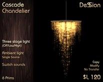Cascade Chandelier -  *DeSSion*