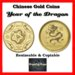 Chinese Gold Coin - Year of the Dragon