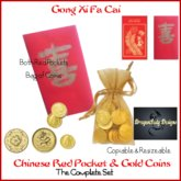 Chinese Red Pockets (Hong Bao) Complete Package