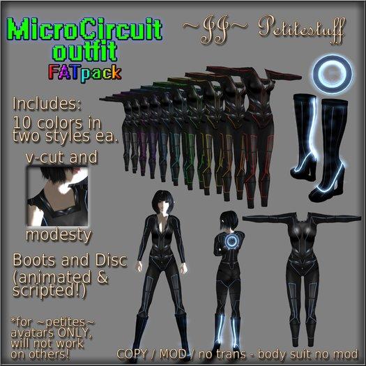 ~JJ~ Petitestuff MicroCircuit Outfit - FATpack