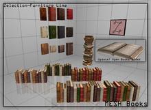 Zelection ~ MESH Books [Full Perm]