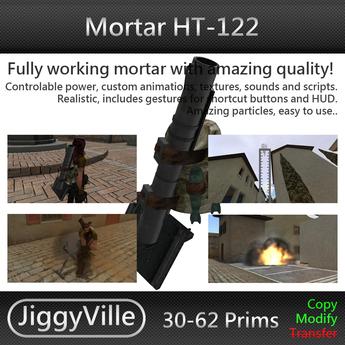 Mortar HT 122 Boxed