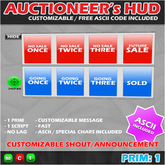 AUCTIONEER's HUD [BOX]