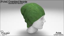 [Pu!se] Oversized Beanie - Fabric Green