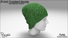 [Pu!se] Oversized Beanie - Wool Green