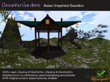 Asian Inspired Garden Gazebo