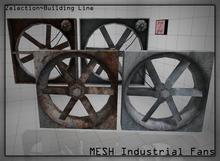 Zelection ~ MESH Industrial Fan