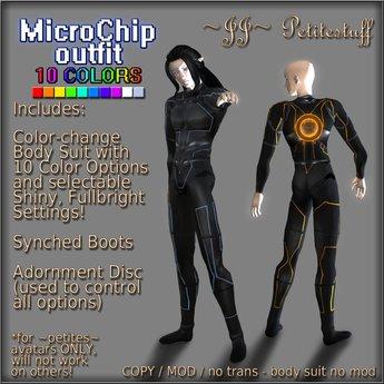 ~JJ~ Petitestuff MicroChip Outfit