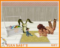 Bunny Book Rug - GIFT
