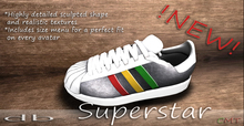 *db* Superstar Jamaica Sneakers Detailed Leather Texture