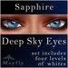 Mayfly - Deep Sky Eyes (Sapphire)