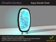 Aqua Geode Chair *new*