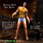 Summer Outfit Ocre Denim