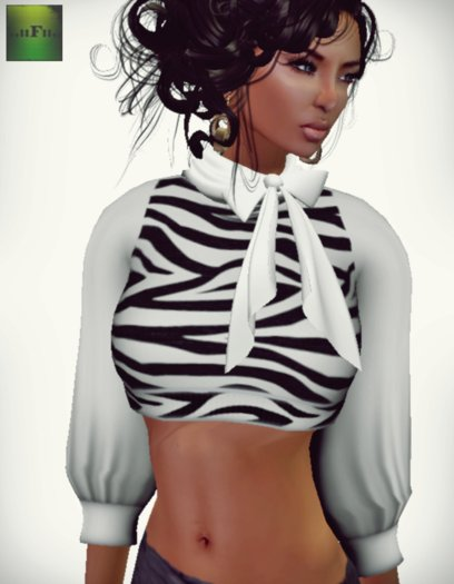 ::FEED:: iRawk Mesh Short Top (Zebra)