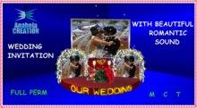 WEDDING INVITATION WITH SOUND