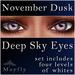 Mayfly - Deep Sky Eyes (November Dusk)