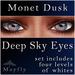 Mayfly - Deep Sky Eyes (Monet Dusk)