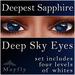 Mayfly - Deep Sky Eyes (Deepest Sapphire)