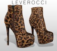 [MESH] Leverocci - Leopard Booties_Bare