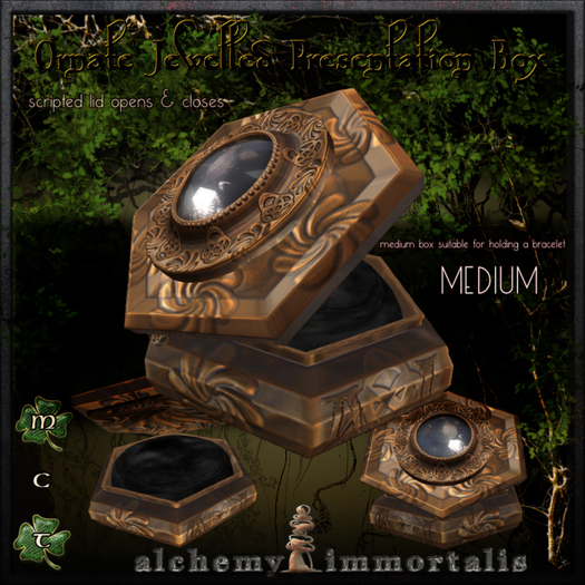 Ornate Bejewelled Presentation Box (medium)