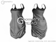 <Geometry DEMO> Eve ( rigged mesh in standard sizing )
