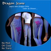 Dragon Jeans - Open Front