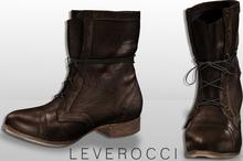 [Mesh] Leverocci - Range Boots_Chocolate