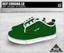 DEF! Unisex Sneakers / Corona / Lo / Green (100% Mesh)