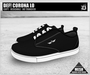 DEF! Unisex Sneakers / Corona / Lo / Black (100% Mesh)
