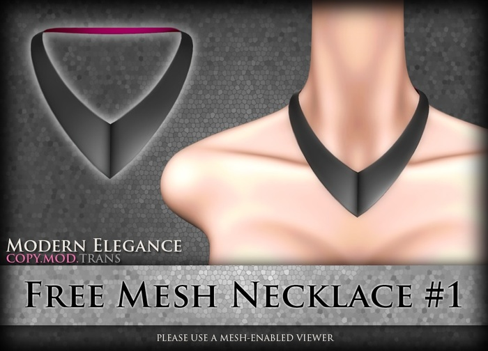 MESH Free Necklace #1