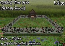 Spring Time Coop [Flower Fence] (BOXED)