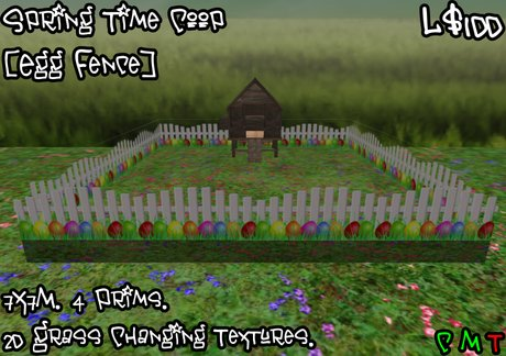 Spring Time Coop [Egg Fence] (BOXED)