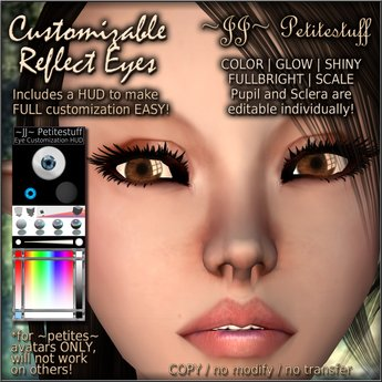 ~JJ~ Petitestuff Customizable Reflect Eyes