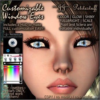 ~JJ~ Petitestuff Customizable Window Eyes