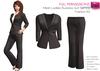 SAVE! 2 IN 1 FULL PERM CLASSIC MESH Ladies Business Suit