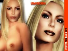 UOMO&DONNA: skin femme Paola full make up