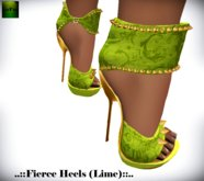 ::FEED:: Fierce Heels (Lime)*****PROMO*****