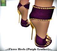::FEED:: Fierce Heels (Purple)