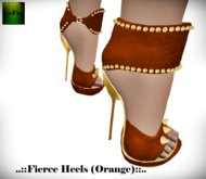 ::FEED:: Fierce Heels (Orange)