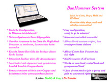 BanHammer System - let your friends and employees assist you with parcel security