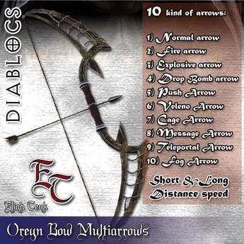DIABLOCS Oreyn Bow 2.0 Box (unlimited) DEMO