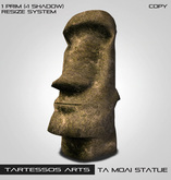 ::TA Moai Statue::